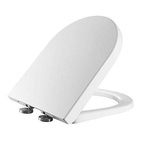 RAK Ceramics RAKSEAT006 Resort Mini Wrap Over Soft Close Seat with Quick Release Hinge