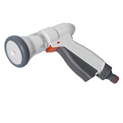 Preisvergleich Produktbild Bradas WL-EN8T 3 Funktionen Gartenbrause Sprühpistole,  weiß,  10 x 10 x 3 cm