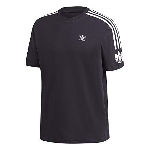 adidas Camiseta con trébol 3D. negro L