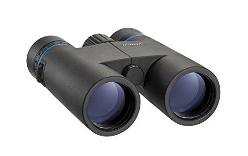 MINOX BLU 10x42 Fernglas – Lichtstarkes Fernglas bis in die Dämmerung – Inkl. Bereitschaftstasche, Tragegurt, Schutzdeckel für Objektiv & Optikputztuch