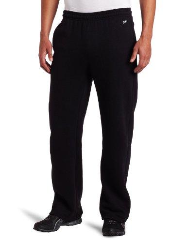 Soffe Men's Premiere Pocket Sweatpant, Black, Medium