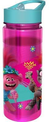 Trolls - Botella de Agua TRITAN 650 ML Rosa