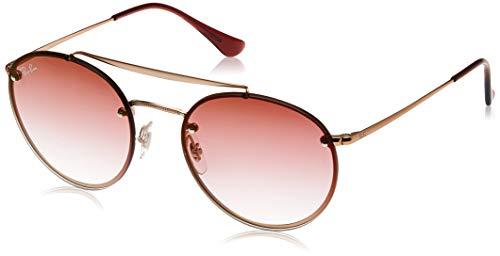 Ray-Ban 0RB3614N Gafas de Sol, Demi Gloss Copper, 54 Unisex
