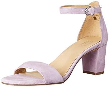 Naturalizer Women s Vera Heeled Sandals Wisteria Purple 6 Wide