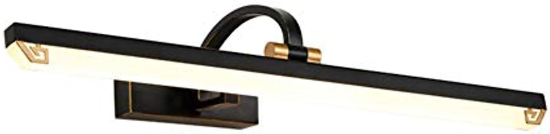 """LED Vintage Schminklicht, Eisen Acryl-schatten Wandleuchte Spiegellampe Für Ankleidezimmer 56 cm""""-11W Trichromes Dimmen"""