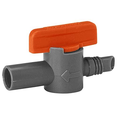 GARDENA Micro-Drip-systeem regelventiel: Stuurventiel voor het regelen van de waterdoorstroom en reikwijdte van de…