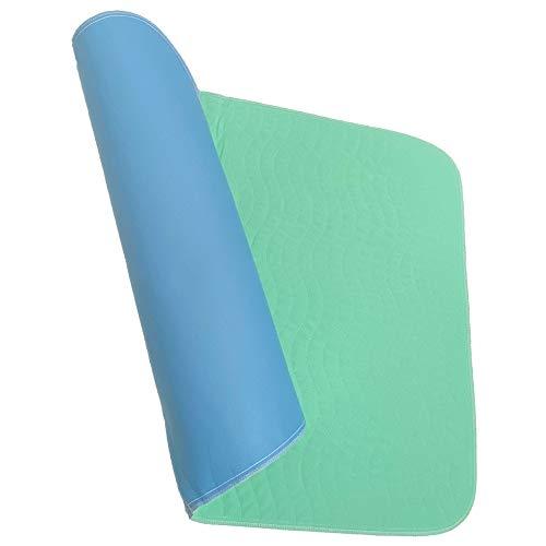 Carevitex Superdry Inkontinenzunterlage waschbar 75x90cm, Krankenauflage selbsttrocknend bei Inkontinenz, Betteinlage wiederverwendbar