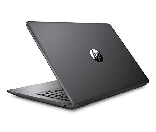 "HP - PC 14-ds0014nl Stream Notebook, AMD A4-9120e, RAM 4 GB, eMMC 64 GB, Windows 10 Home S, Schermo 14"" HD SVA Antiriflesso, Office 365 Incluso 1 Anno, USB, HDMI, RJ45, Webcam, Nero"