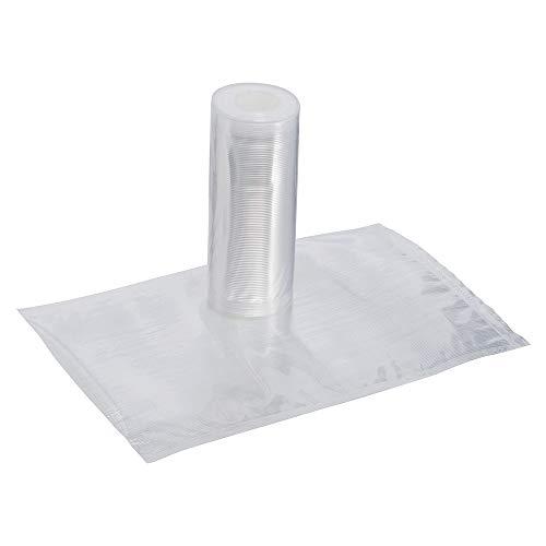 Magic Vac ACO1081 Pack de 2 rollos 15 cm x 6 m, Al Vacío Libre BPA, Lavables, para Congelar, Nevera, Microondas, Transparente