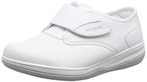 Oxypas Medilogic Emily Slip-resistant, Antistatic Nursing Shoe, White (Wht), 5.5 UK (39 EU) ⭐