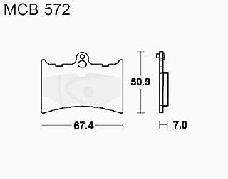 Lucas TRW Bremsbeläge MCB 572 vorne Alfer MC 125 88