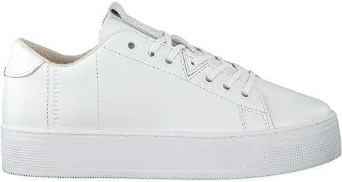 Hub Footwear Damen - Sneakers Hook XL Leather - White, Größe:39 EU