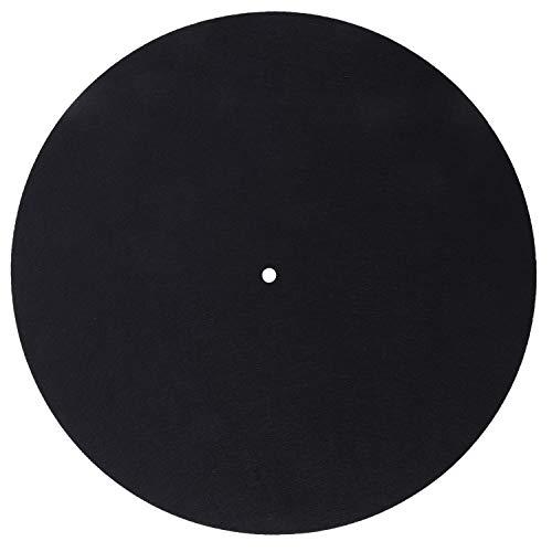 Beada 1 unids ultra-delgado anti-estático Lp vinilo tocadiscos reproductor de discos pad para fonógrafos plana suave Mat Record Slipmat Pad