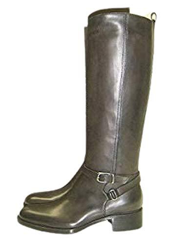 [サルトル] SR2005 ベルトブーツ エンジニアブーツ 乗馬ブーツ レザー ジョッパーズブーツ レディース11サイズ37 GRIGIO(グレーブラウン) [並行輸入品]