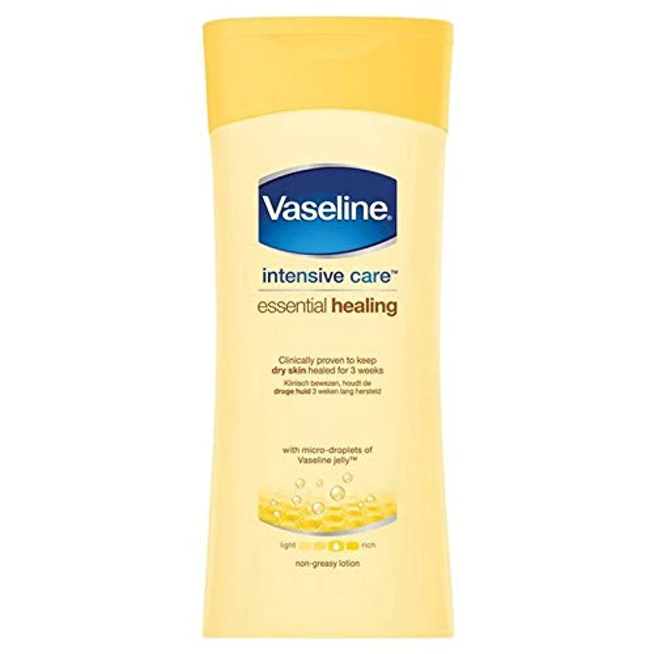 グリーンランド展示会鰐[Vaseline ] ワセリン集中治療不可欠ローション200Ml - Vaseline Intensive Care Essential Lotion 200ml [並行輸入品]