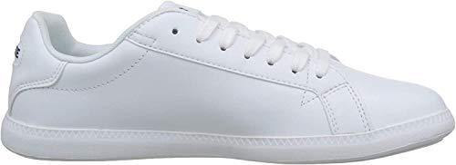 Lacoste Womens Graduate BL 1 SFA Sneaker, Weiß (White/White), 40 EU