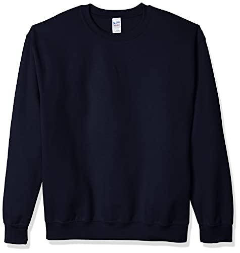 Gildan Men's Heavy Blend Crewneck Sweatshirt - Large - Navy