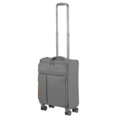 March 15 Rally 4-Rollen-Kabinentrolley 55 cm Silver Brushed