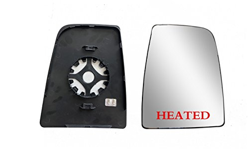 Replacement Passenger Right Side Mirror Upper Glass with Headted And Plate fit...