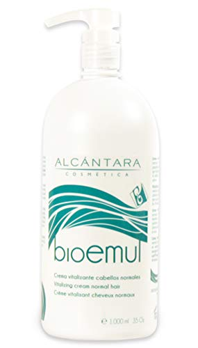 Alcantara Cosmetica Bio Emul Crema Vitalizante para Cabellos Normales 1 Litro 1000 ml