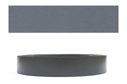 Mprofi MT® (20m rollo) Cantoneras laminadas melamina para rebordes con Greve Antracita perlado 22 mm