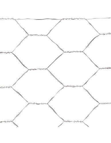Saturnia Treillis triple torsion 31/50 cm Maille métallique, corréles, cages, poulailler. Rouleau de 50 mètres pour usage domestique.