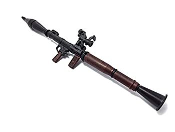 1/6 Scale RPG-7 Rocket Propelled Grenade Launcher Anti-Tank Bazooka Russian Army Fit for 12  Action Figure  Mini Toy Gun 7  Long