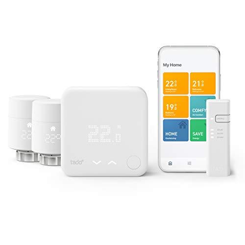 tado° Smart Thermostat - Multi-Room Control Starter Kit V3+