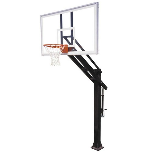 First Team Titan Supreme In-Ground Basketball Hoop with 72 Inch Acrylic Backboard