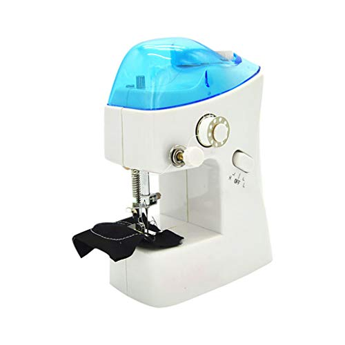 iYBUIA Portable Needlework Cordless Mini Manual Clothes Sewing Machine Free Arm Industrial Sewing Machines 1 Pc for Beginners Best Gift for Family
