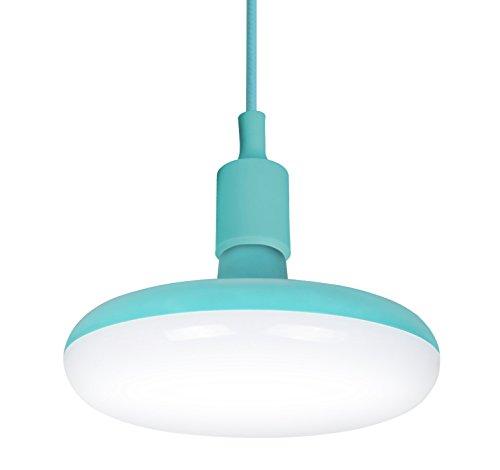 Garza Lampe LED E27 12 W, turquoise