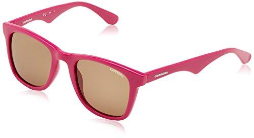 Carrera 6000/L, Gafas de Sol Rectangulares Unisex, Rosa (Fucsia), 50 mm