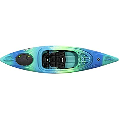 Perception Joyride 10 | Sit Inside Kayak for Adults and Kids | Recreational and Multi-Water Kayak with Selfie Slot | 10'