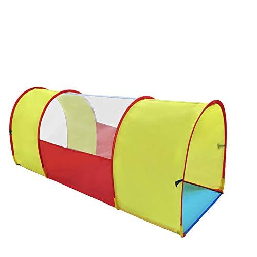 HWZPPP KJZhu Tiendas de campaña El túnel del Juego for el niño, Ligero Arrastre del Tubo del bebé Túneles 51 Pulgadas / 59 Pulgadas - Pop-túnel for Interior y Exterior Plegable