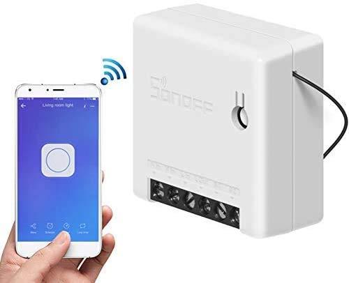 Konesky Mini Interruptor wifi, Inteligente interruptor de Dos Vías, Soporta Control Remoto...