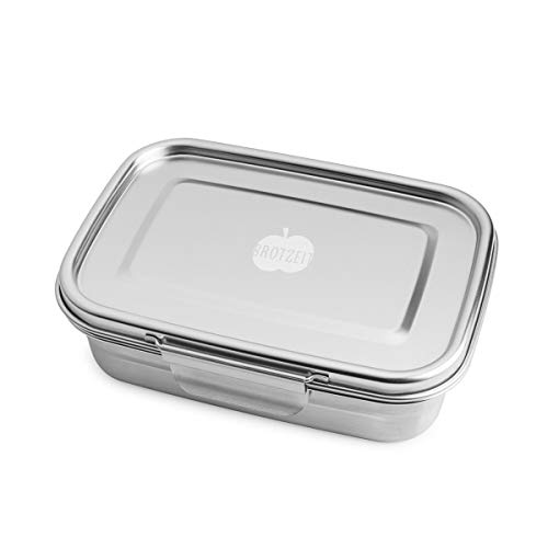 Dichte Lunchbox 'BUDDY' aus Edelstahl, 1.260ml - 100% BPA frei, fest verschliessbar