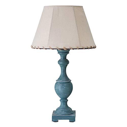 PXY Escritorio Útil Lámpara Mediterránea Azul Retro Mesa Lámpara de Moda Dormitorio de la Cama Lámpara de Cama Simple Estudio Lectura Lámpara de Ojo Lámpara de Mesa Lara Lámpara de Mesa