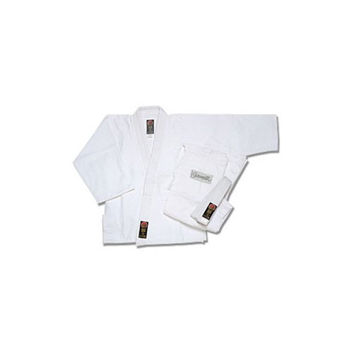 Pro Force Gladiator Judo Gi/Uniform - Bleached White - Size 4