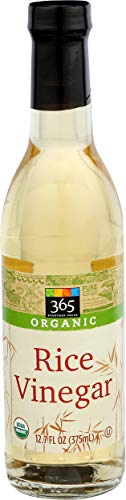 365 Everyday Value, Vinegars Rice Organic, 12 Ounce
