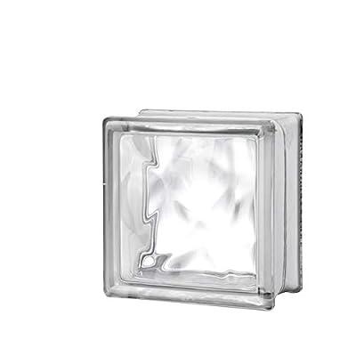 6x6x3 Nubio Glass Block -10 pk