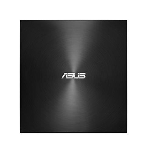 Asus ZenDrive U9M externer DVD-Brenner (für Apple MacBook & Windows PCs/Notebooks, inkl. USB-C Kabel, Brennsoftware & Nero Backup App, M-Disc Support, USB 2.0) schwarz