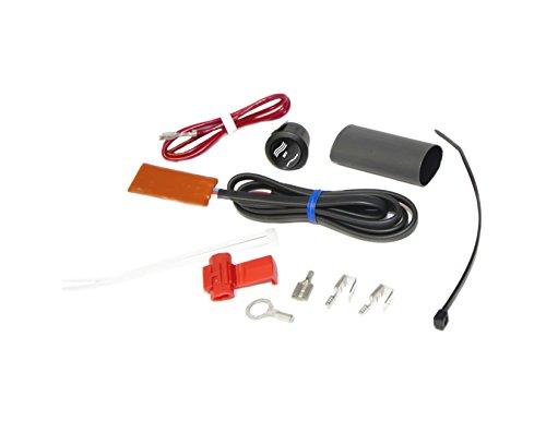Heat Demon 210008 ATV Thumb Warmer Kit with Round Rocker Switch, Black