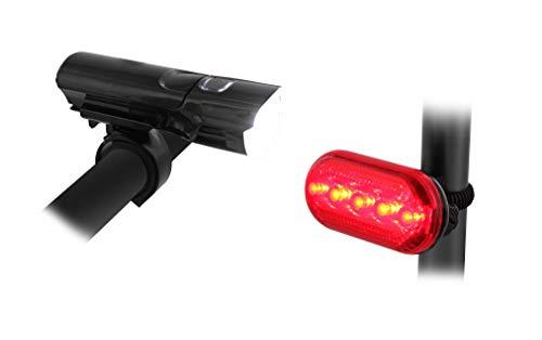 TNB Kit de Luzes Dianteiras e Traseiras para Bicicleta ou Trotinete UMLED2 - 1765271502891
