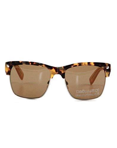 DSquared Gafas de sol retro vintage diseño para hombre y mujer. Dqs 149/55j Talla única