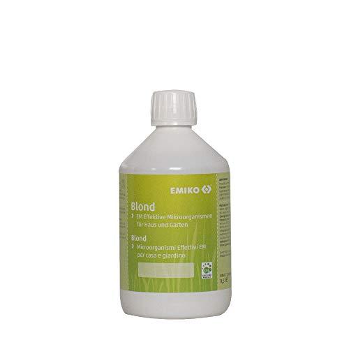 Emiko Blond Original EM Effektive Mikroorganismen 500ml, helles EM-Allroundprodukt