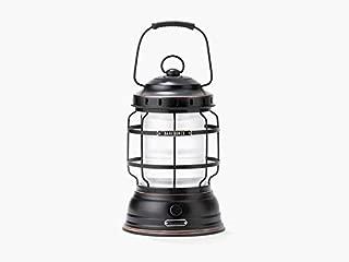 Barebones   Bronze Forest Lantern - Vintage, Rechargeable, Adjustable Brightness