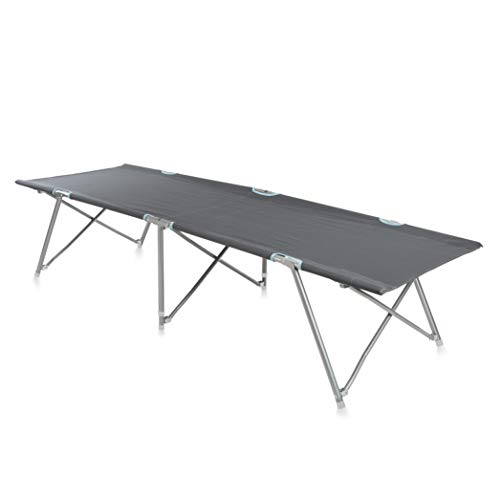 CAMPART Travel BE-0624 Cama para Camping, Gris