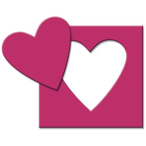 EK Success Paper Shapers Medium Punch, Heart