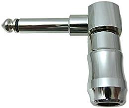 HKM 6.3mm エル型Phone Plug 【L104 tele】 モノラルプラグ 対応ケーブルΦ5-Φ7.5 L104-T 日の出光機製作所