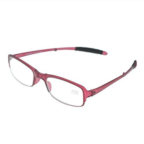 OCCI CHIARI Los hombres de la moda rectángulo de la moda de la gafas marco con lente transparente sin receta